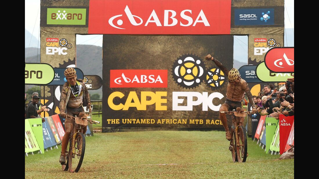 01 MB Cape Epic 2014 2. Etappe