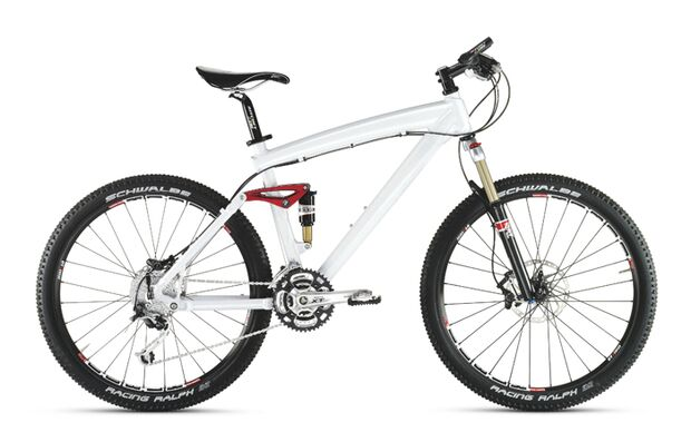 BMW Cross Country 2009 Mountainbike weiß