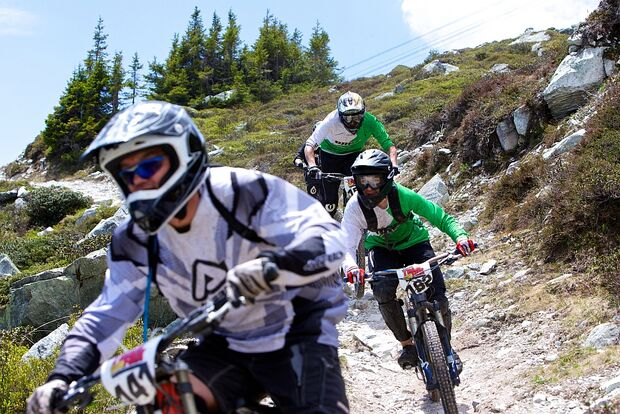 Dakine Trailfox 2013 - Bilder vom MTB-Event in Flims 24