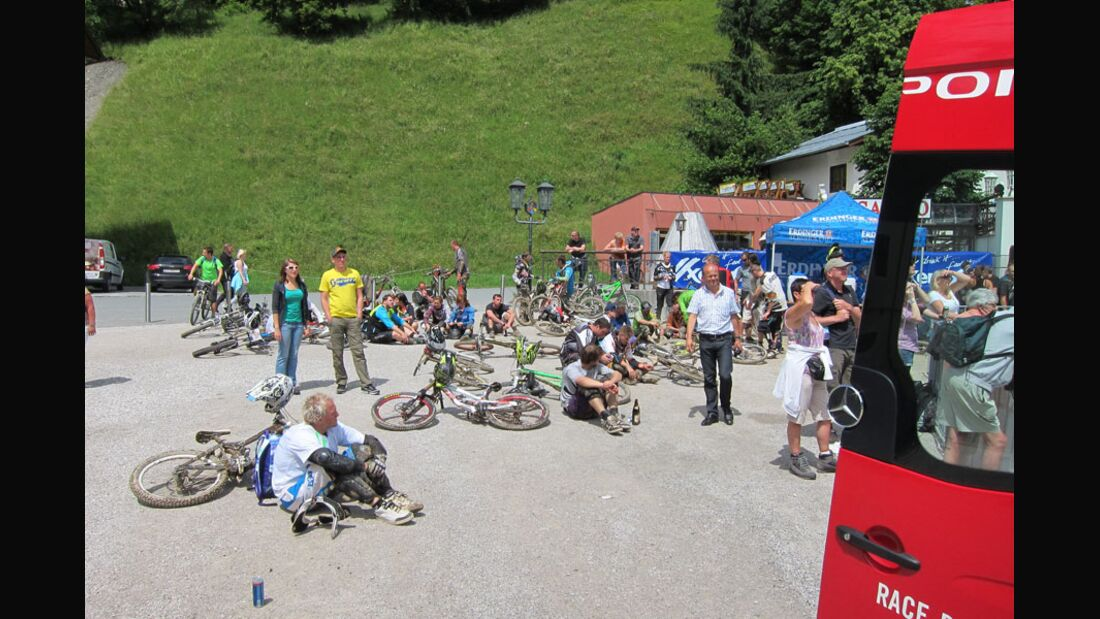 Downhill-Rennen, Slopestyle-Contest und Beatbox-Show bei Bikes and Beats 3