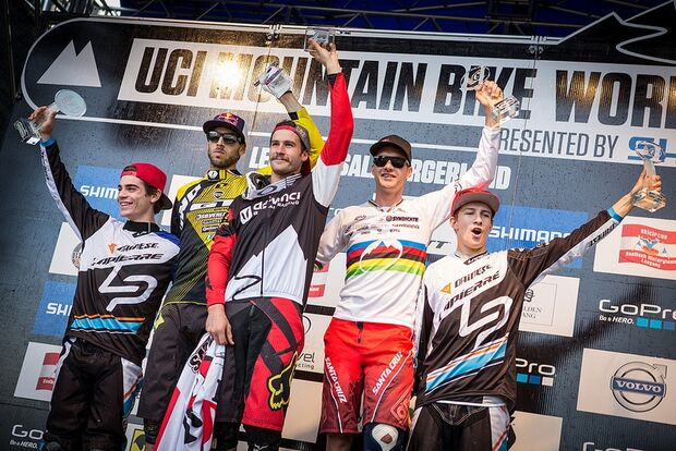 Downhill World-Cup 2013: Finale in Leogang 8