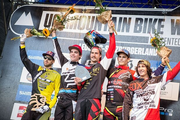 Downhill World-Cup 2013: Finale in Leogang 9