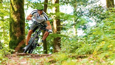 EM E-Mountainbike Mike Kluge