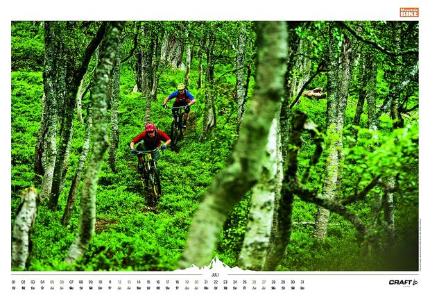 Kalender 2014 - Mountainbike, outdoor, klettern 11