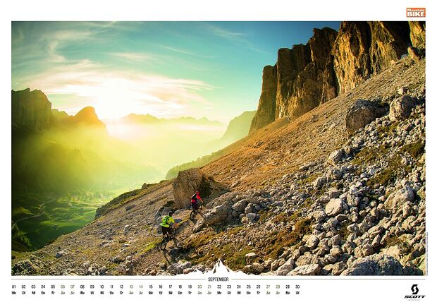 Kalender 2014 - Mountainbike, outdoor, klettern 13