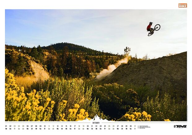 Kalender 2014 - Mountainbike, outdoor, klettern 14