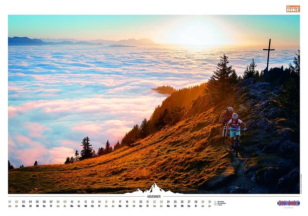 Kalender 2014 - Mountainbike, outdoor, klettern 15