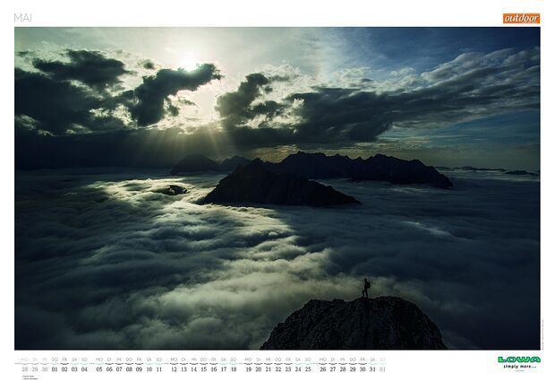 Kalender 2014 - Mountainbike, outdoor, klettern 22