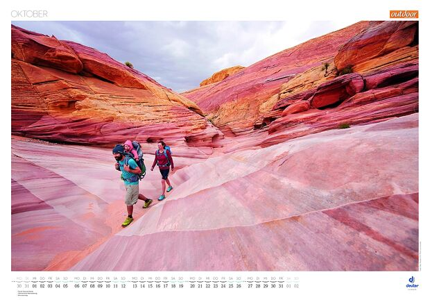 Kalender 2014 - Mountainbike, outdoor, klettern 27