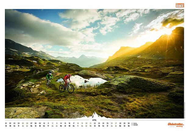 Kalender 2014 - Mountainbike, outdoor, klettern 8