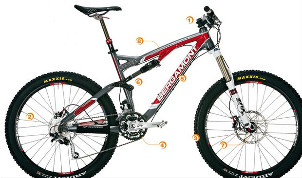 MB 0411 All-Mountains - perfektes Bike