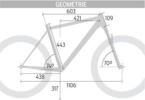 MB 0514 Merida Big.Nine Lite XT Edition - Geometrie
