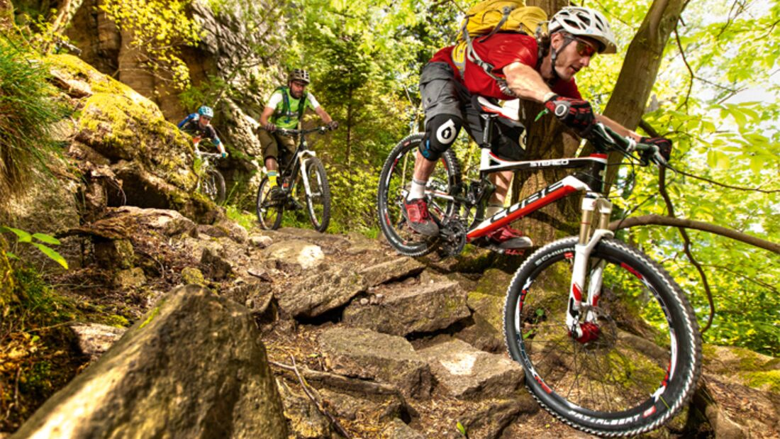 MB 0711 All-Mountain-Bikes Test