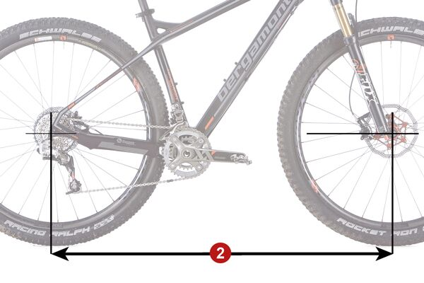 MB 1213 Race-Hardtails optimales Bikes - Radstand