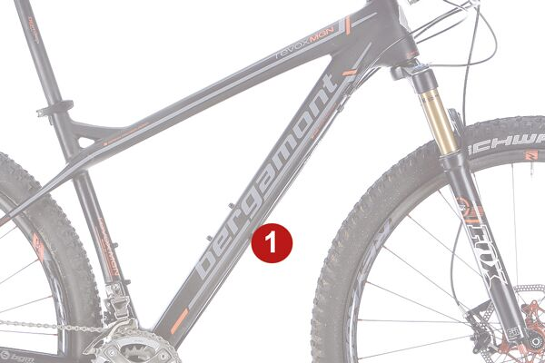 MB 1213 Race-Hardtails optimales Bikes - Rahmen