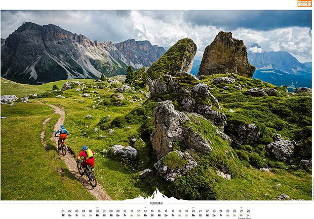 MB 2016 Kalender Best of Mountainbike 2017 Februar