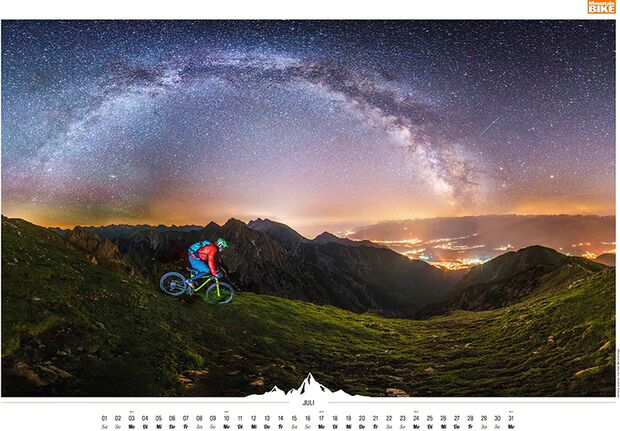MB 2016 Kalender Best of Mountainbike 2017 Juli