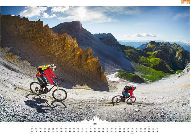 MB 2016 Kalender Best of Mountainbike 2017 Mai