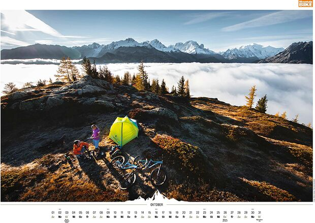 MB 2016 Kalender Best of Mountainbike 2017 Oktober
