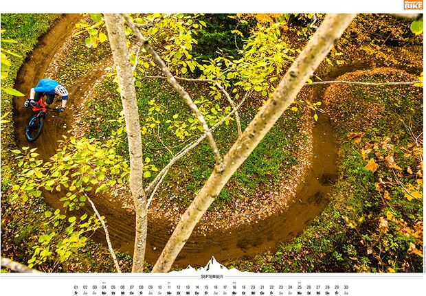 MB 2016 Kalender Best of Mountainbike 2017 September