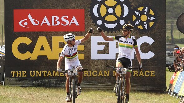 MB Absa Cape Epic 2014 4. Etappe