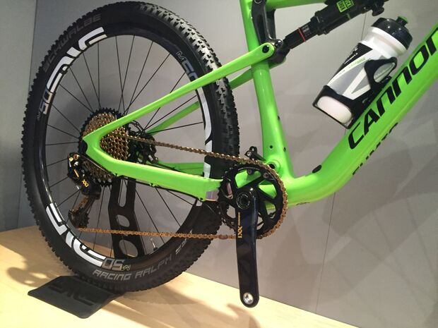 MB Cannondale F-Si Team Fumic Olympia 2016 Detail