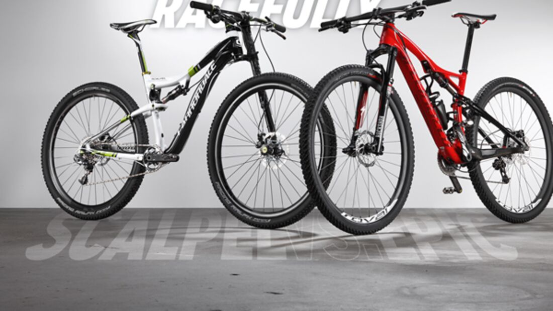 MB Cannondale Scalpel 29 Carbon Team vs. Specialized Epic Marathon Carbon 29
