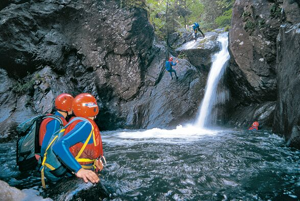 MB Canyoning in Tirol