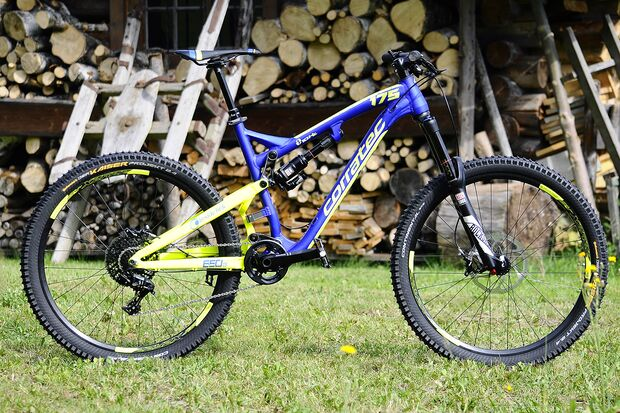 MB Corratec Insidelink 10hz Enduro 175 Eurobike Media Days