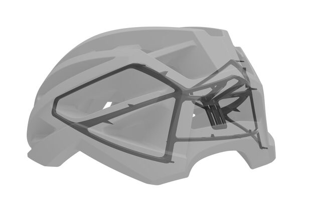MB Cube Helm Skelett