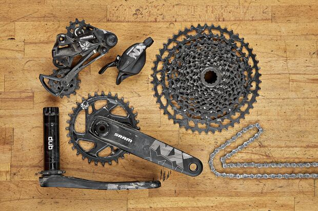 MB Dauertest 2018 Parts Sram NX Eagle