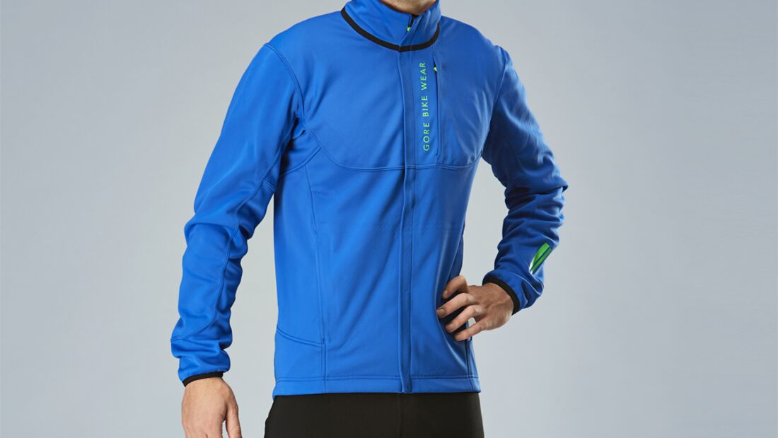 MB Gore Bike Wear Power Trail Windstopper Softshell Thermo