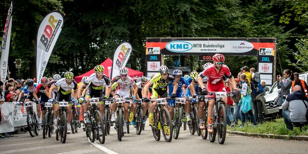 MB KMC Mountainbike Bundesligafinale Bad Säckingen Feld