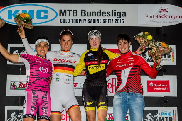 MB KMC Mountainbike Bundesligafinale Bad Säckingen Podium Woman