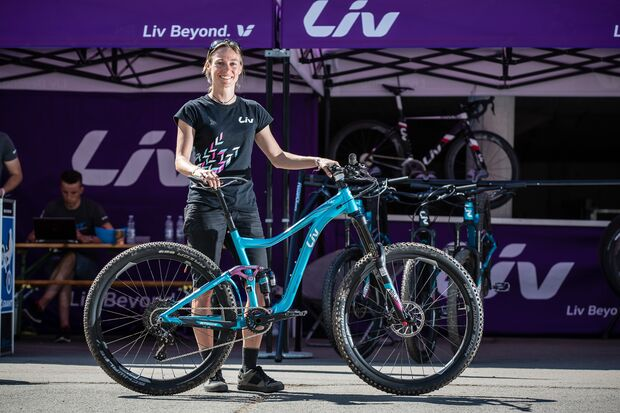MB LIV Intrique SX Enduro Ladybike Neuheit 2016 Eurobike Media Days