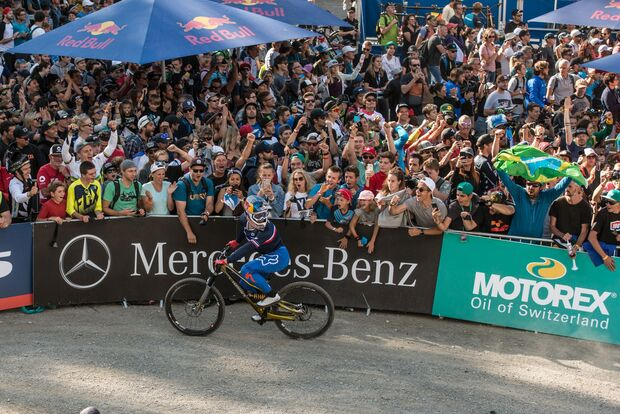 MB MTB Weltmeisterschaft 2019 Crowd