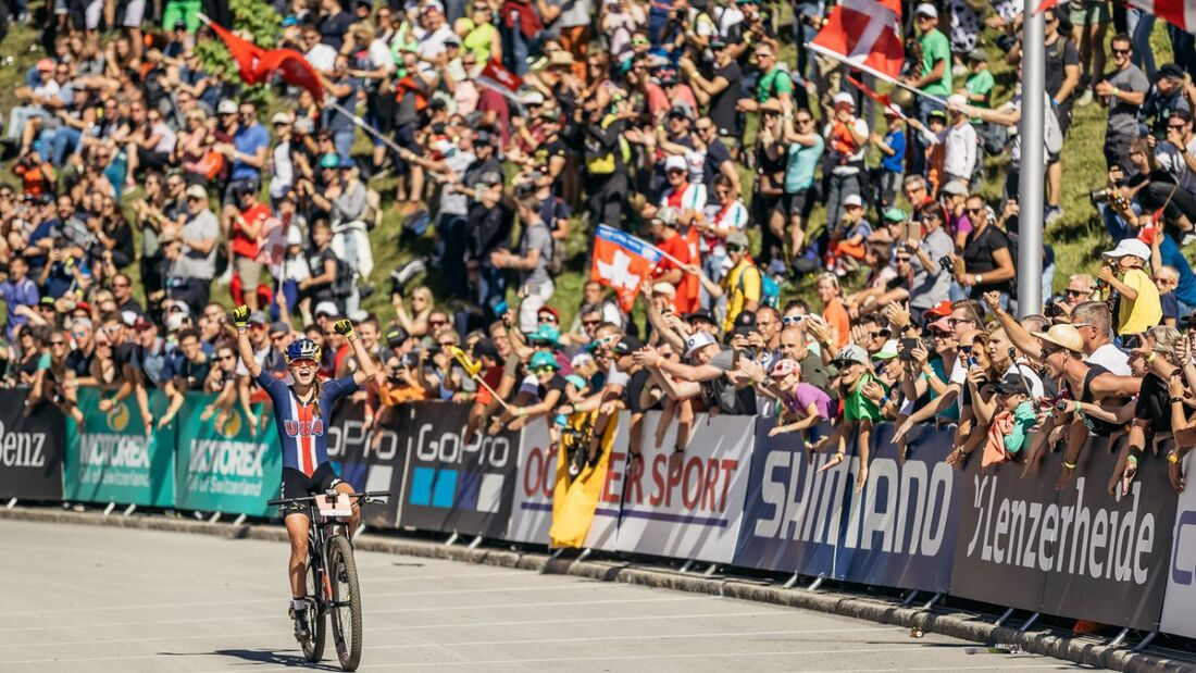 MB MTB Weltmeisterschaft 2019 Lenzerheide Courtney