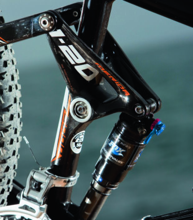 MB Merida 120 Carbon Wippe