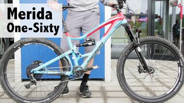 MB Merida One-Sixty Teaser Video