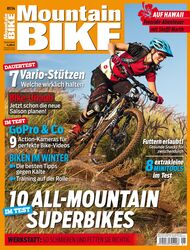 MB MountainBIKE 01/14 Heft-Cover