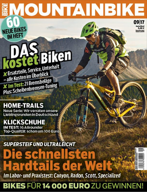 MB MountainBIKE 09/17 Heft-Cover