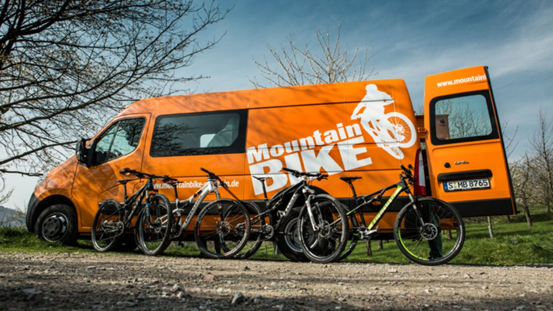 MB MountainBIKE-Bus