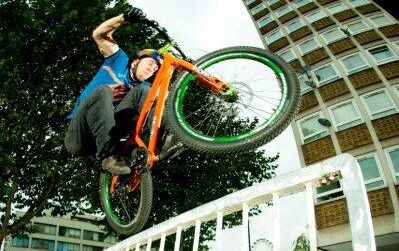 MB Streets of London Danny MacAskill