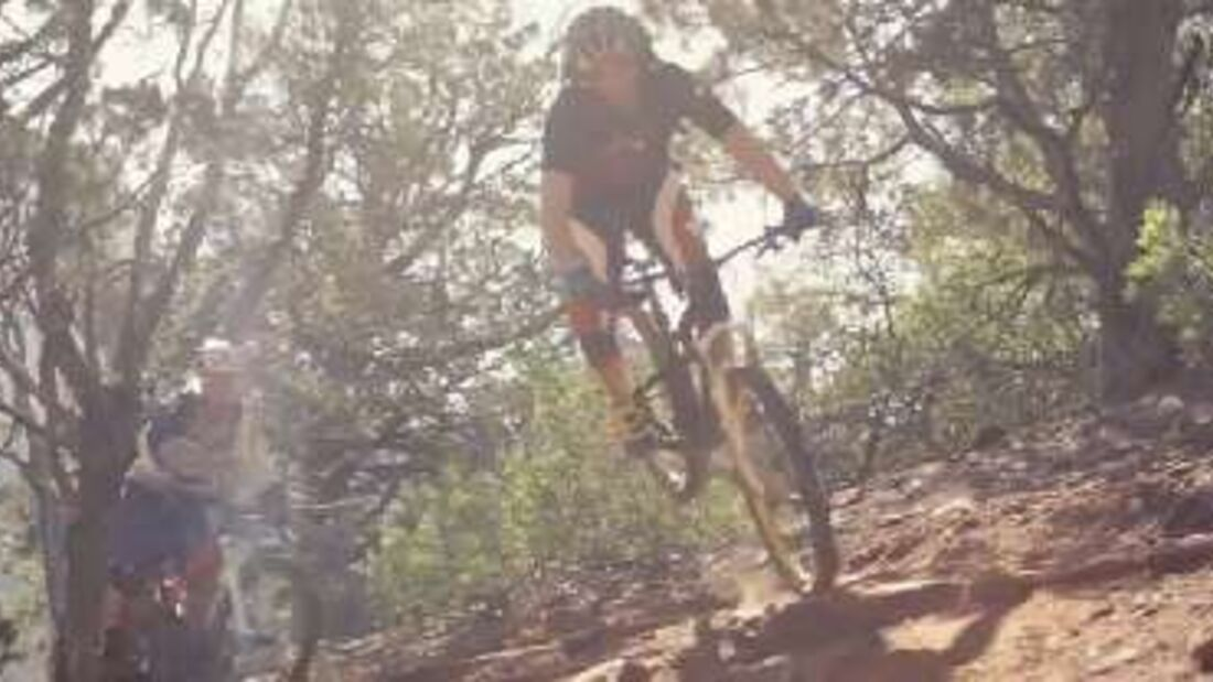 MB Video 0416 Biken in Sedona Arizona