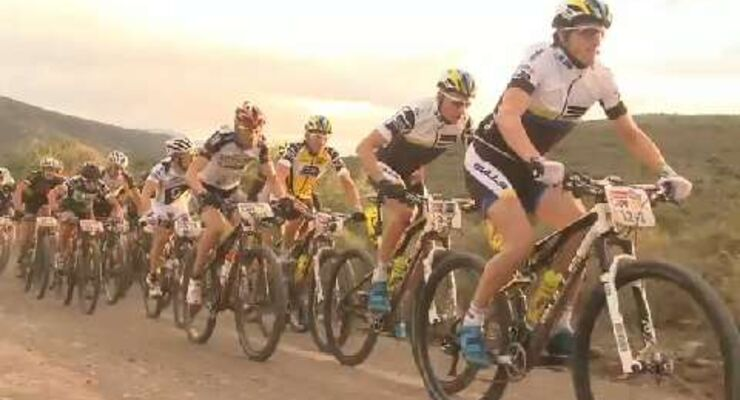 MB Video Absa Cape Epic 2014: 3. Etappe