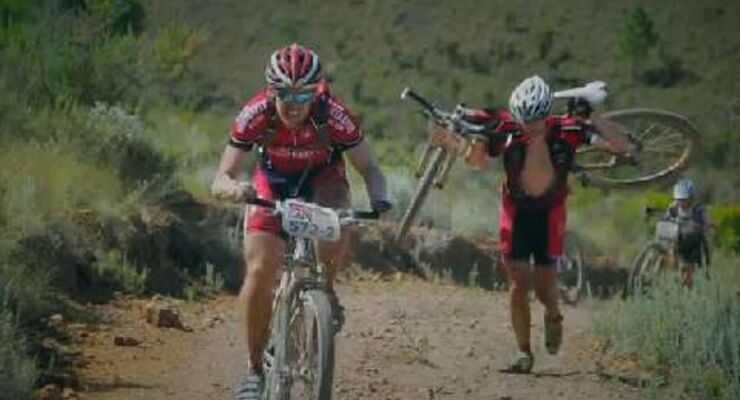 MB Video Absa Cape Epic 2014: 6. Etappe