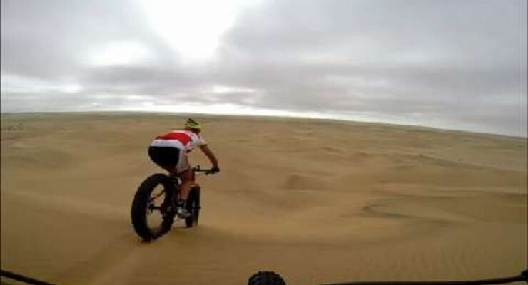 MB Video Auf MTB-Safari in Namibia