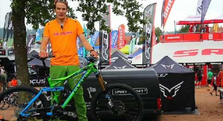 MB Video Eurobike 2013: Cube Fritzz 180 HPA