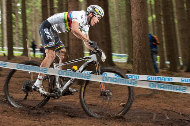 MB Weltmeisterschaft Cross Country 2015 Andorra Bikecheck Julien Absalon Fourstroke -1