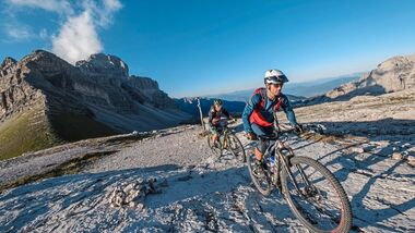MTB-Touren in Brenta